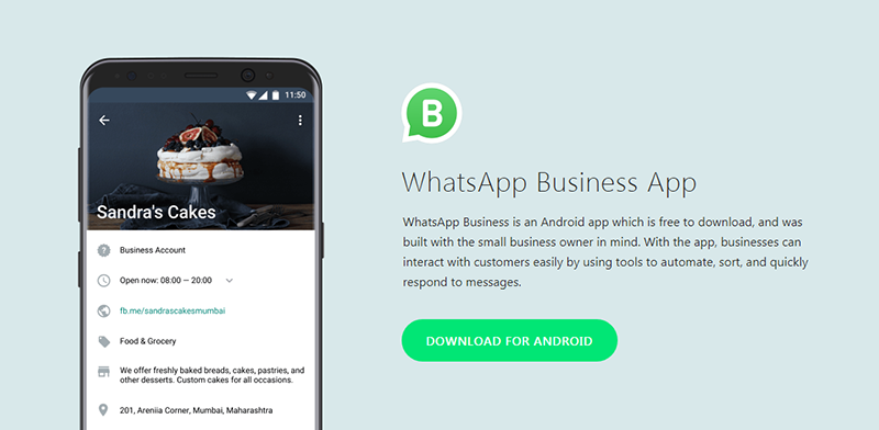 whatsapp business-app